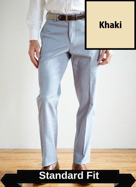 SRFPF2S-FFT KH / KHAKI / Franklin Twill Standard Fit Flat Front Short Khaki