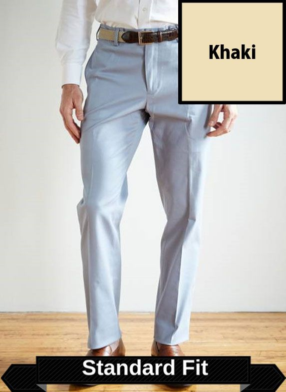 SRFPF2PS-FFT KH / KHAKI / Franklin Twill Standard Fit Pleated Front Short Khaki