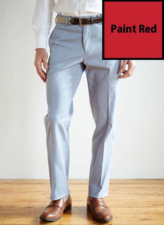 SRFPF5-FFT PR / PAINT RED / Franklin Twill 5 Pocket Pant Flat Front Paint Red